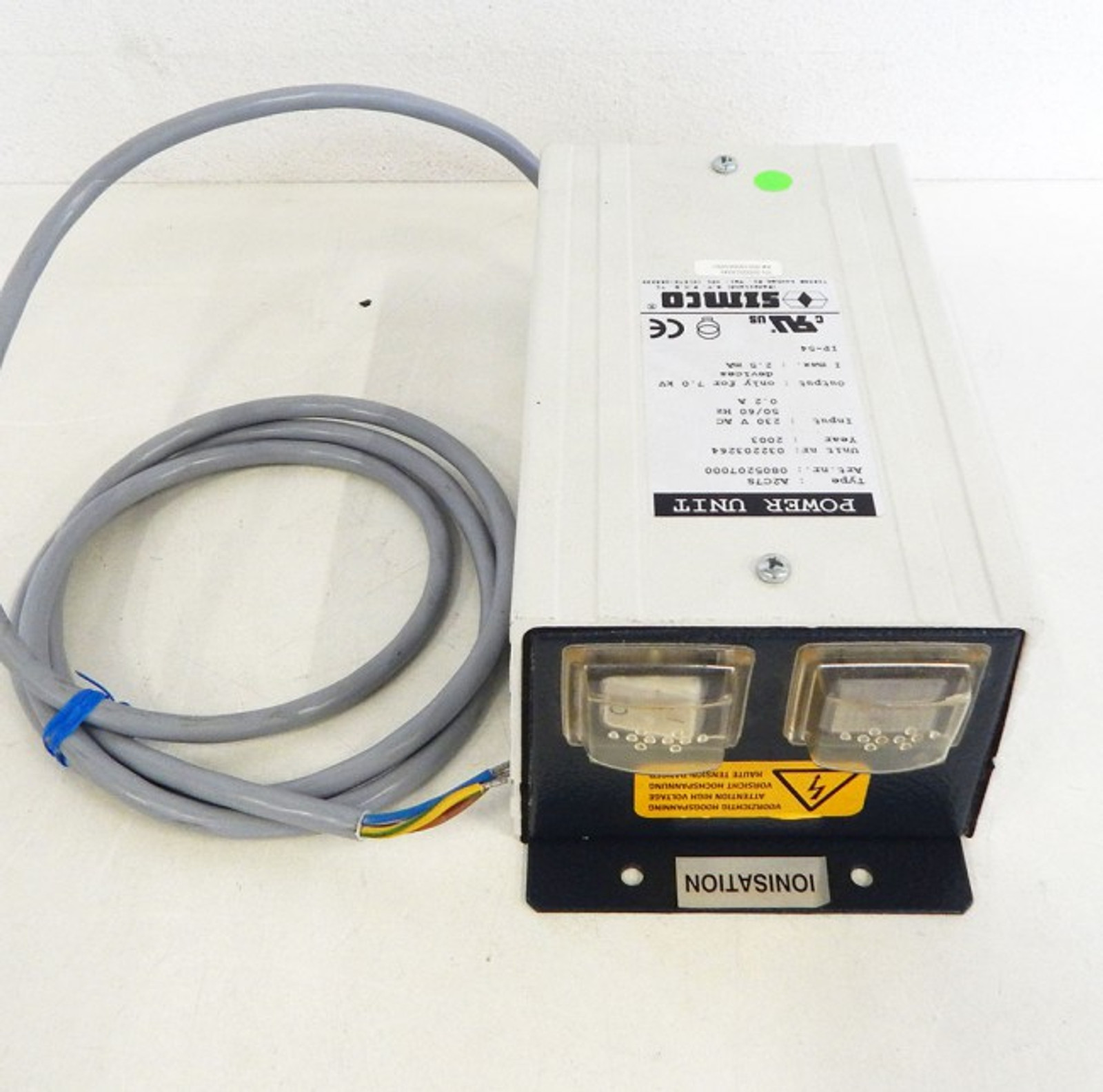 Simco A2C7S 0805207000 Power Supply 7kV -used-